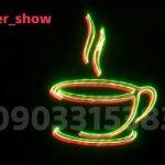 نوشتن متن فارسی با انواع فونت با لیزر تبلیغاتی