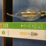 لامپ اشکی فلامنتی ۴ w