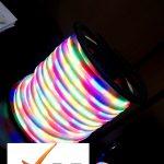 ریسه نئون فلکسی مولتی کالر هفت رنگ
