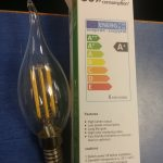 لامپ ۶ وات فلامینی لوستری شرکت ایرانی