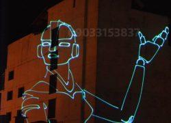 لیزر متنی و انیمیشن