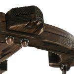 لوستر چوبی مارونی ۳ شعله مدل MARUNI82703