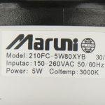 پنل COB لنز دار مارونی ۵ وات مدل ML005