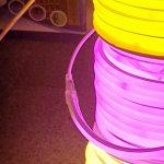 ریسه نئون فلکسی گرد ۱.۵ سانتیمتر